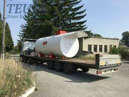 Перевозка емкости для хранения топлива тралом, Перевезти емкость для хранения топлива