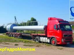 Перевозка негабаритных грузов, перевозка негабарита, трал