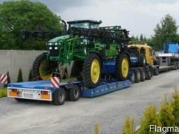 Перевозка негабаритных грузов тралами