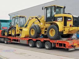 Перевозка негабаритных грузов тралом, аренда трала
