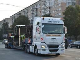 Перевозка сельхозтехники по Украине Европе СНГ