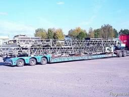 Перевозка спецтехники оборудования заводов конструкций