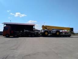 Перевозка трактора, экскаватора, крана , бульдозера, грейдера, дробилки