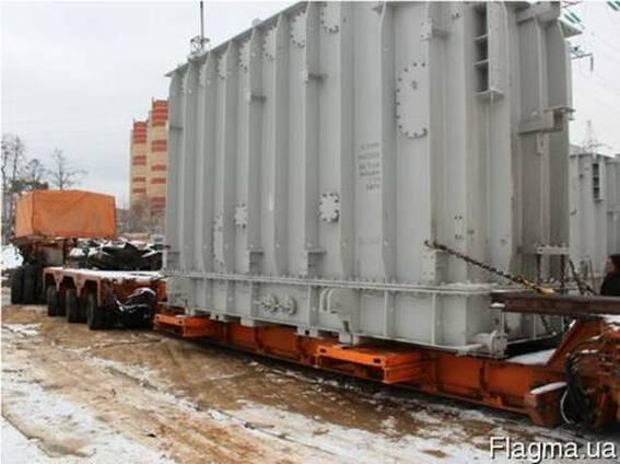 Перевозка трансформатора тяжеловесных крупногабаритных грузо