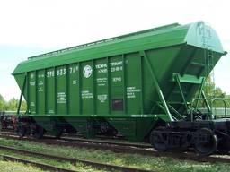 Перевозка вагонами зерна, стройматериалов, удобрений