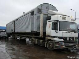 Перевозка вагонов гаражей бытовок кунгов магазинов конструкц
