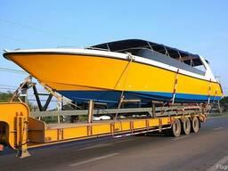 Перевозка яхт катеров лодок экскаватора катка бульдозера