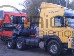 Перевозки негабаритных и тяжеловесных грузов любой сложности