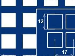 Перфолист квадратная ячейка PC Qg12-17/2/1000x2000
