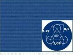 Перфорированный лист нержавейка 0,5-1,09/0,5/1000x2000 Герма