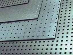 Перфорированный лист нержавеющий PA Rv3-5/1/1000x2000