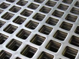 Перфорированный оцинк. лист, кругла ячейка PP RV3-5/1/1000X2000 мм