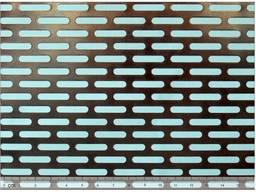 Лист перфорированный стальной 4x20-16x25/1/1000x2000