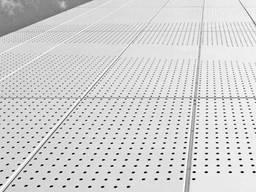 Перфорированный нержавеющщий лист PA Rv10-15/1/1000x2000 мм