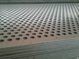 Перфорированный оцинкованный лист 0,75мм, 1мм