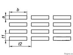Перфорированные листы прямоугольные отверстия