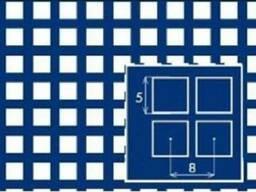 Перфорированные листы стальные PC Qg10-15/1,5/1250x2500