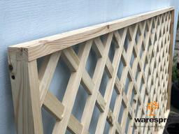Пергола, декоративная решетка деревянная для беседки, для сада и огорода