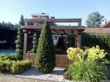 Пергола деревянная для загородного дома - фото 3
