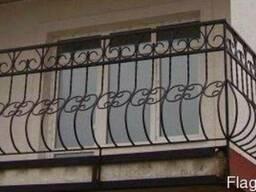 Перила, ограждения, секции балкона