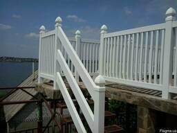 Перила для терасс и балконов - фото 1