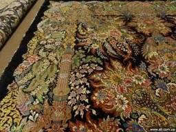 Персидские ковры 100% шелк ручная работа