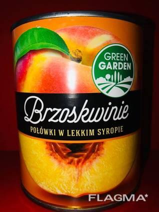 Персик в сиропе
