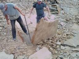 Песчаник дикий камень