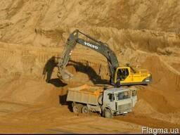Песок беляевского карьера для строительства