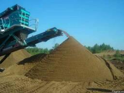 Песок Беляевского карьера сеяный в Одессе.