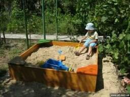 Песок для песочницы. Купить песок в песочницу