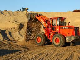 Песок для строительных смесей