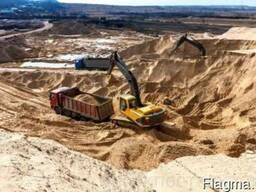 Песок глинистый
