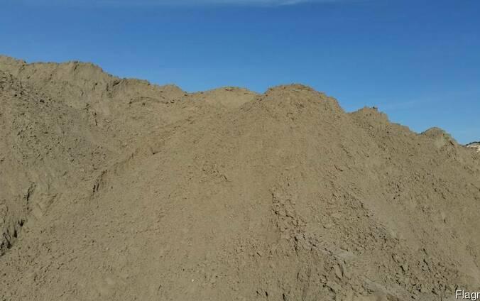 Песок карьерный, обогащенный отсевом дробления, фр. 2,5