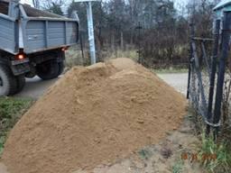Песок карьерный. Песок Мытый. Щебень.