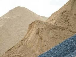 Песок (Карьерный, речной)