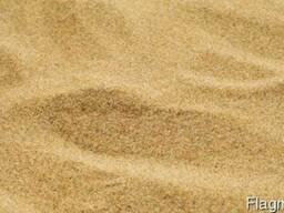 Песок купить овражный, Песок речной купить самовывозом и дос