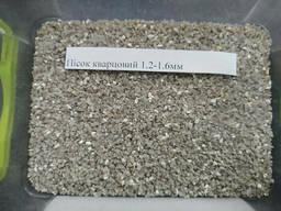 Песок кварцевый 1. 2 - 1. 6 мм, мешок 25 кг.