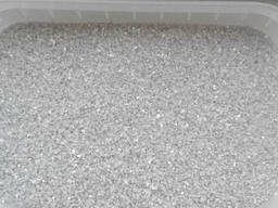 Песок кварцевый фр. 0, 8-1, 2мм в мешках по 25кг