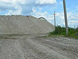 Песок мытый (намывной) навалом Харьков