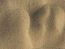 Речной песок навалом и в мешках