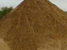Песок несеянный карьерный