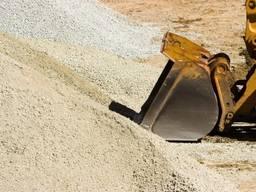 Песок, отсев, щебень от 10т. Стройматериалы навалом.