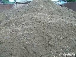 Песок прибрежный (не сеянный ) морской