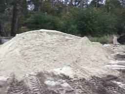 Пісок річковий, машина піска