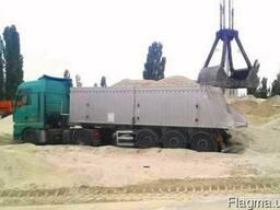 Песок речной доставка с НДС. Кременчуг