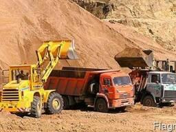 Песок речной и овражный c доставкой г. Борисполь и район
