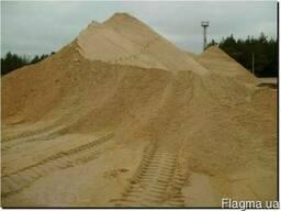 Оптом. Речной песок с доставкой 30 тонн. Цена 5400 грн.