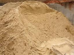 Песок речной (Мытый)песок овражный доставка 1-15 тонн