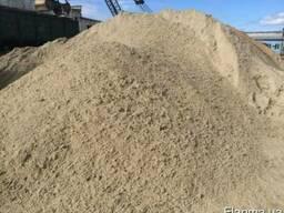 Пісок Білий намивний річковий ціна за тонну Суми доставка